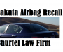 US-DOT speeds up the replacements of Takata Airbag Inflators