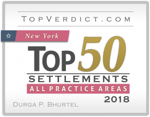 Mr. Durga P. Bhurtel has been selected for Top 50 Settlement Attorney of New York for 2018